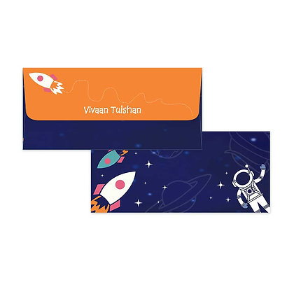 Space Money Envelopes (Set of 20)