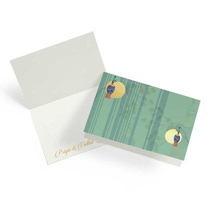 Monal Fold Cards (Set of 20)