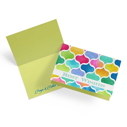 Marrakesh Fold Cards (Set of 20)