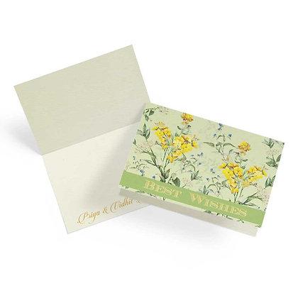 Wild Flower Fold Cards (Set of 20)