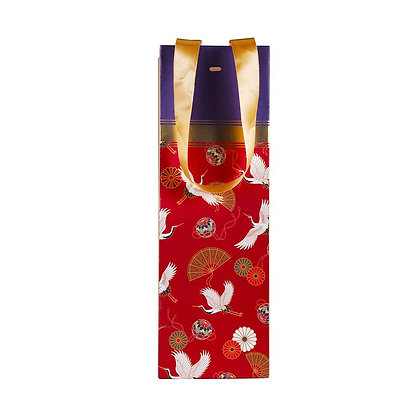 Oriental Flight Wine Bags (Set of 3)