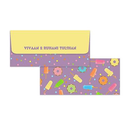 Lollies & Doughnuts Money Envelopes (Set of 20)