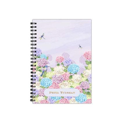 Hydrangeas Journal Notebook