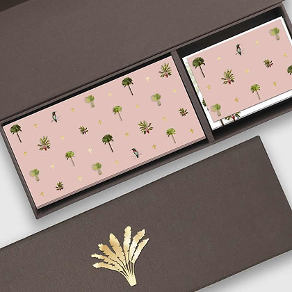Palms Peach Duo Box