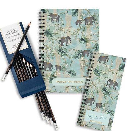 Desk Essentials Box-Royal Paradise