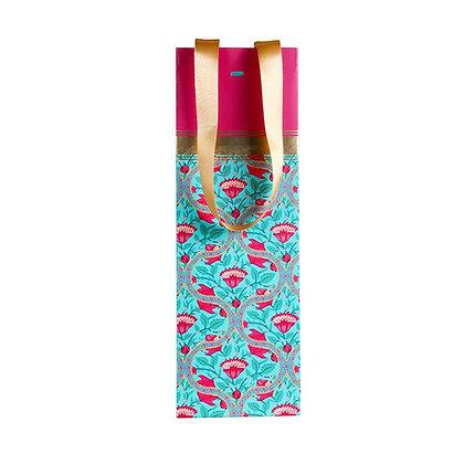 Mughal Jaali Wine Bags (Set of 3)