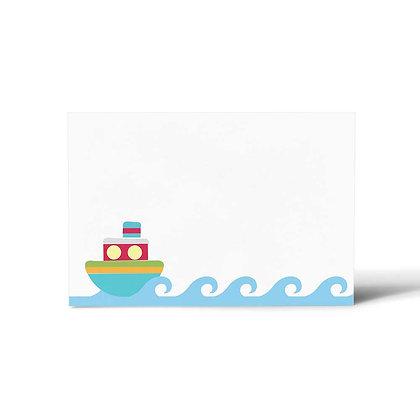 Ships Ahoy Flat Cards (Set of 40)