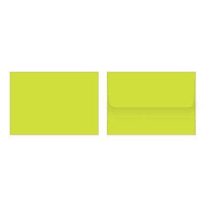 Fold Cards Envelopes (Set of 10) - Green