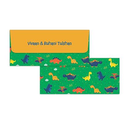 Dino Money Envelopes (Set of 20)