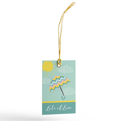 Monsoon Gift Tags (Set of 20)