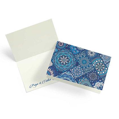 Turkish Tile Fold Cards (Set of 20)