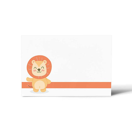 Baby Animals Flat Cards (Set of 40)