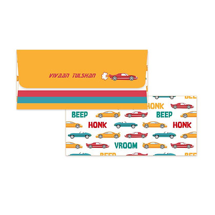 Cars Money Envelopes (Set of 20)
