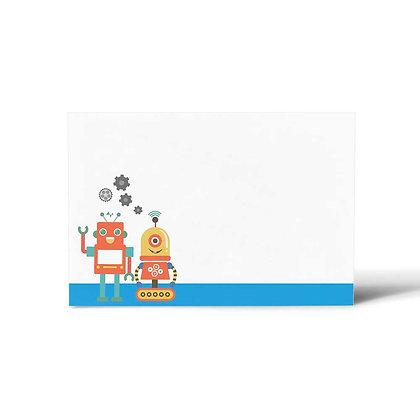 Robots Flat Cards (Set of 40)