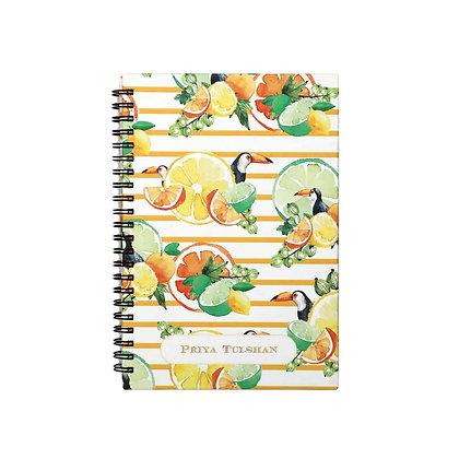 Citrus Summer Journal Notebook