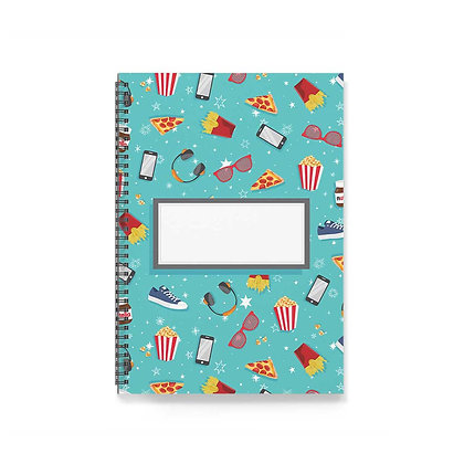 Movie Time Notebook