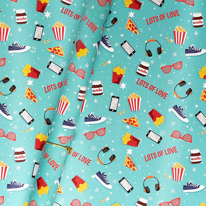Movie Time Wrapping Paper (Set of 5)