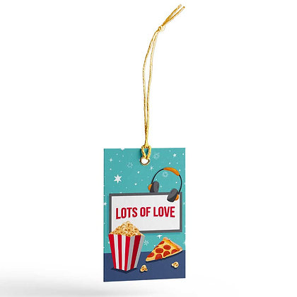Movie Time Gift Tags (Set of 20)