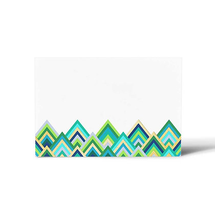 Forest Wave Flat Cards (Set of 40)