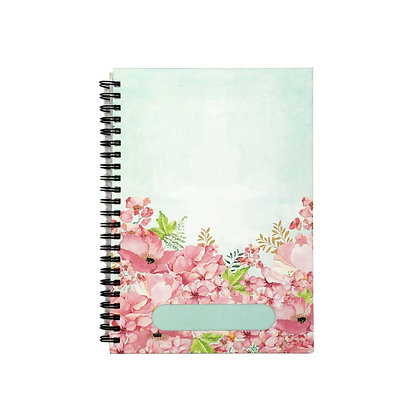 Painted Floral Journal Notebook