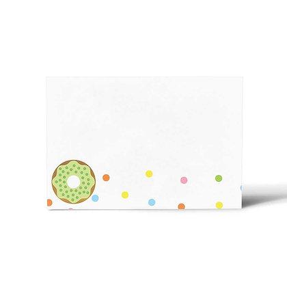 Lollies & Doughnuts Flat Cards (Set of 40)