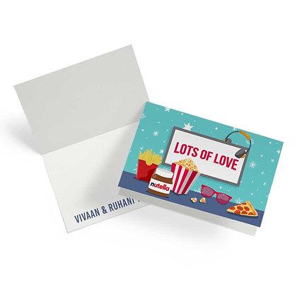 Movie Time Fold Cards (Set of 20)