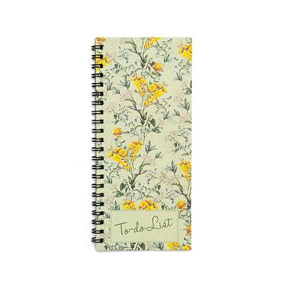 Wild Flower To-Do Notebook