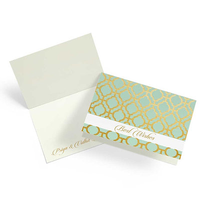 Pastel Jaali Fold Cards (Set of 20)