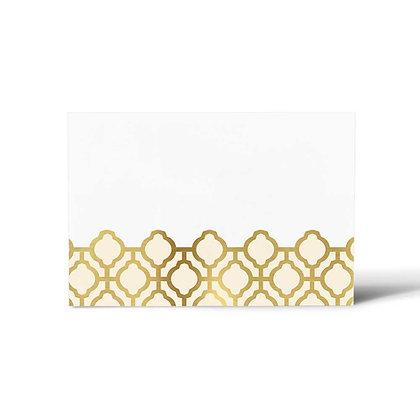 Pastel Jaali Flat Cards (Set of 40)