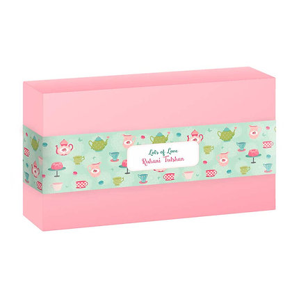 Tea Party Personalised Banner Bands (Set of 20)