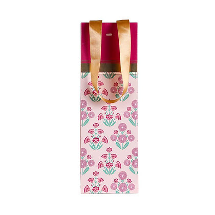 Mughal Phool Wine Bags (Set of 3)