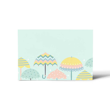 Monsoon Flat Cards (Set of 40)