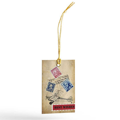 World Map Gift Tags