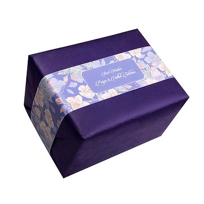 Violet Infusion Personalised Banner Bands (Set of 20)