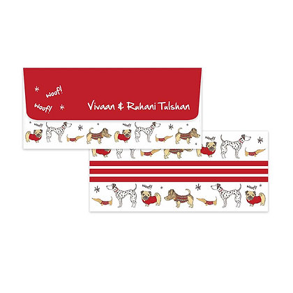 Doggies Money Envelopes (Set of 20)