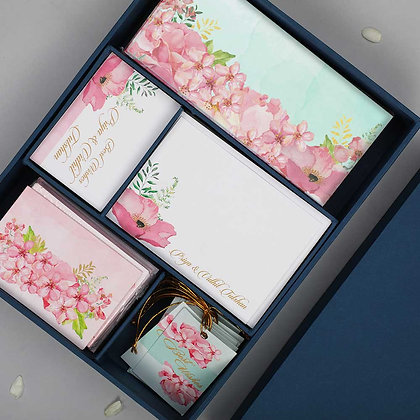Painted Floral Luxury Box