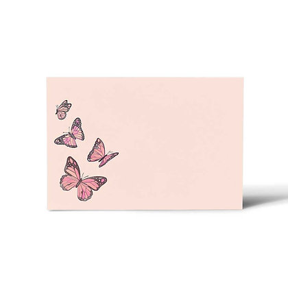 Butterfly Flat Cards (Set of 40)
