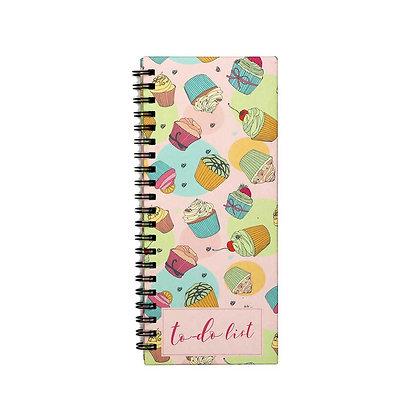 Cupcake To-Do Notebook