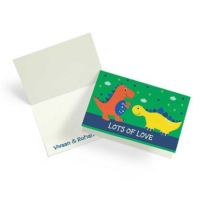 Dino Fold Cards (Set of 20)