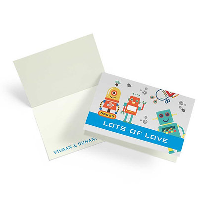 Robots Fold Cards (Set of 20)