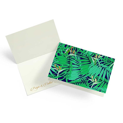 Exotic Palm Fold Cards (Set of 20)