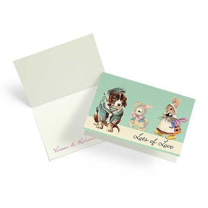 Peter Rabbit Fold Cards (Set of 20)