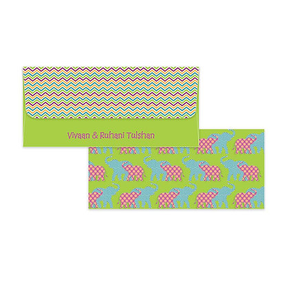 Elephant Money Envelopes (Set of 20)