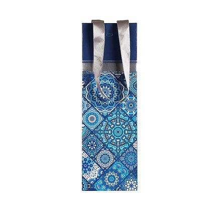 Turkish Tile Wine Bags (Set of 3)