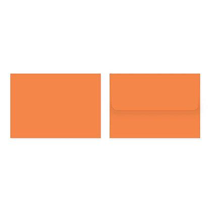 Fold Cards Envelopes (Set of 10) - Orange
