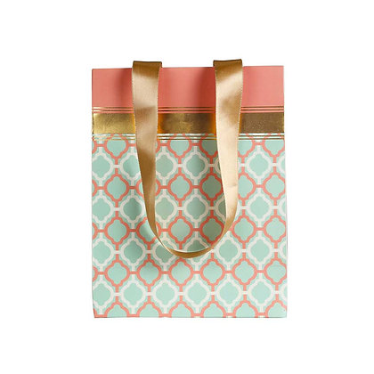 Pastel Jaali Small Bags (Set of 3)