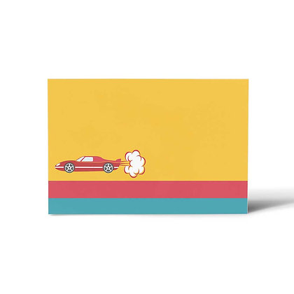 Cars Flat Cards (Set of 40)