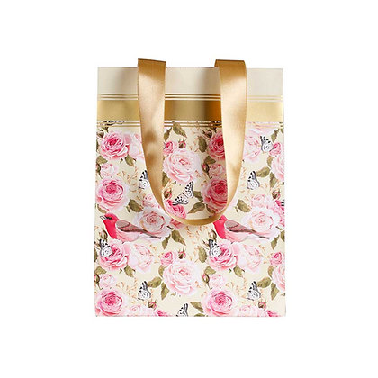 Vintage Floral Small Bags (Set of 3)
