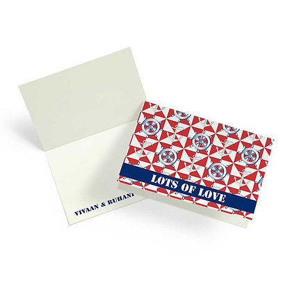 Nautical Fold Cards (Set of 20)