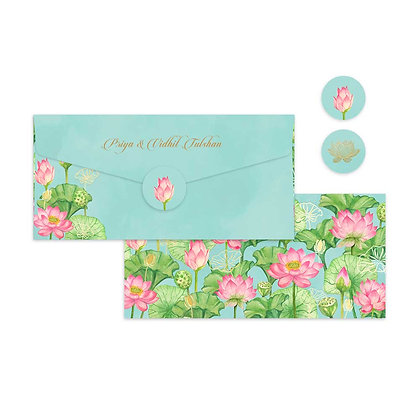 Lotus Money Envelopes (Set of 20)